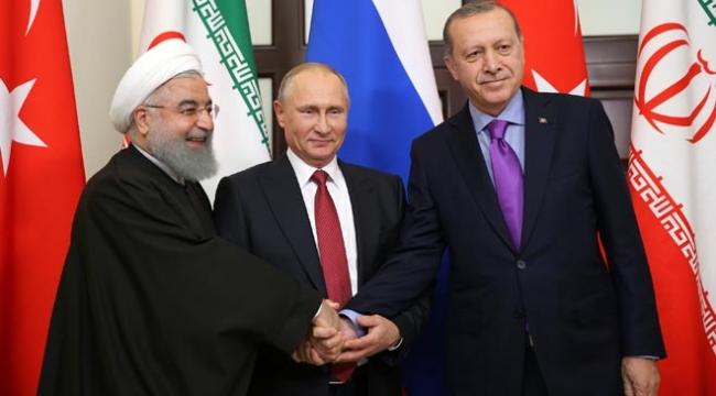 Soçide üçlü liderler zirvesi