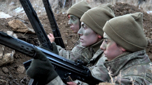 Jandarma Teşkilatının kadın astsubayları