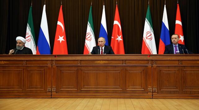 Soçi üçlü Suriye Zirvesine ilişkin ortak bildiri yayımlandı