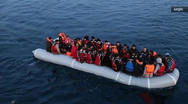 Akdenizde bin 100 göçmen kurtarıldı