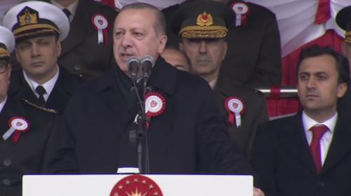 Cumhurbaşkanı Erdoğan'dan güçlü ordu vurgusu