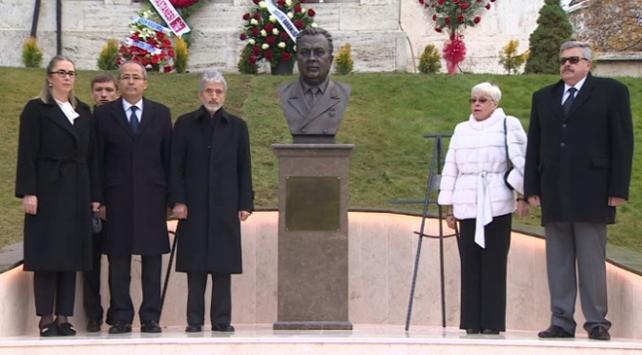 Andrey Karlov büstü törenle açıldı