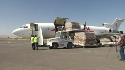 Yemen'e 20 gün sonra ilk yardım ulaştı