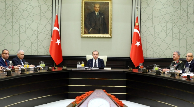 Yılın son Milli Güvenlik Kurulu toplantısı başladı