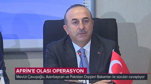 Bakan Çavuşoğlu: Afrin'den tehdit görürsek tereddütsüz girer temizleriz