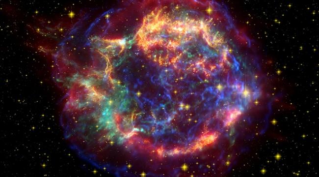 3,5 milyardan fazla kozmik ışın parçacıkları tespit edildi