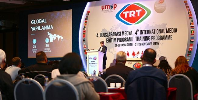 TRT yayıncılık tecrübesini dünyayla paylaşıyor