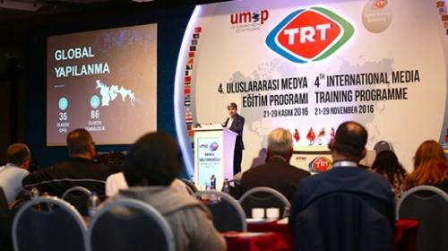 Uluslararası Medya Eğitim Programı 4 Aralık'ta başlıyor