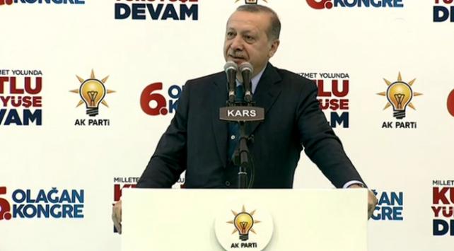 Cumhurbaşkanı Erdoğan: Sanal mahkemeler asla benim ülkemi mahkum edemez