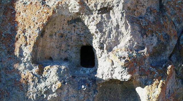 Erzurumda antik yerleşim alanı bulundu
