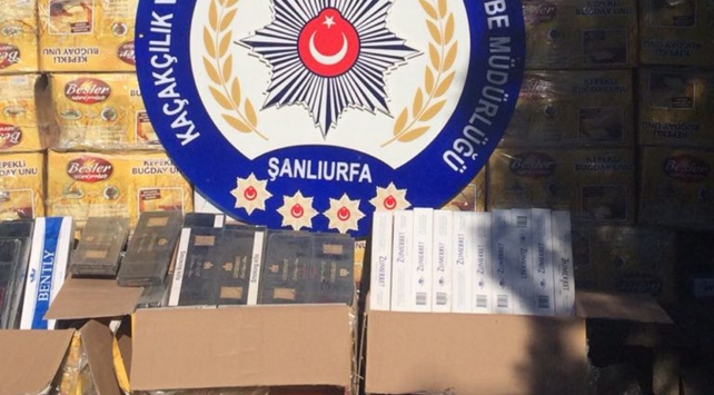 272 bin paket kaçak sigara ele geçirildi