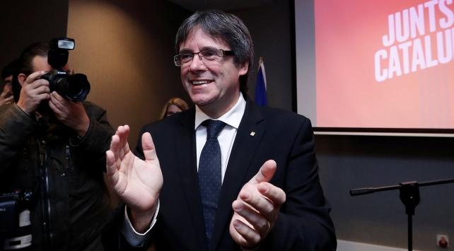 Puigdemont hakkındaki tutuklama talebi geri çekildi