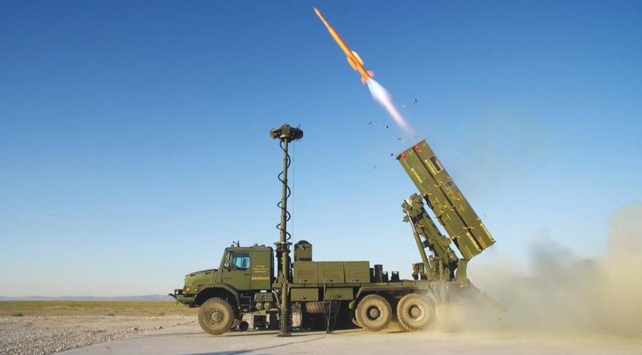 Milli hava savunma sistemi Hisar tam not aldı