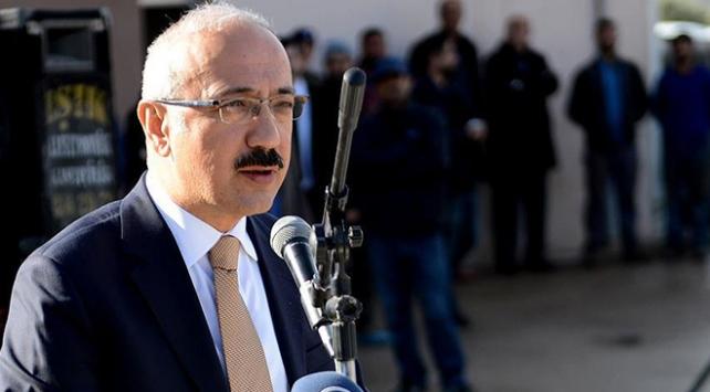 Bakan Elvan: Biz Bölgede huzur istiyoruz, istikrar istiyoruz, barış istiyoruz