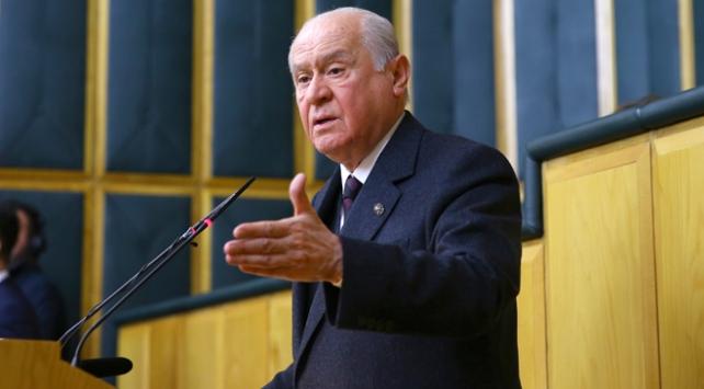 MHP Genel Başkanı Bahçeli: ABD Kudüs gafletine son vermelidir