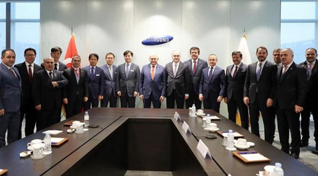Başbakan Yıldırım, Samsung Digital Cityi ziyaret etti