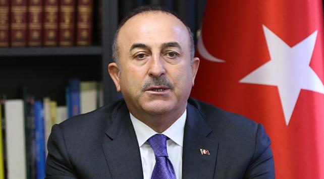 Dışişleri Bakanı Çavuşoğlu: Açıklamayı büyük endişeyle karşılıyor ve kınıyoruz