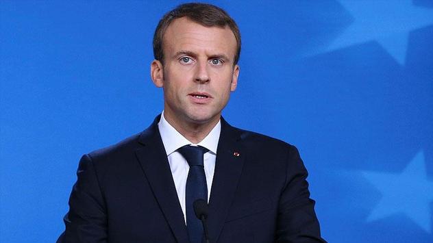 Fransa Cumhurbaşkanı Macron: BM Güvenlik Konseyi kararlarına aykırı bir karardır