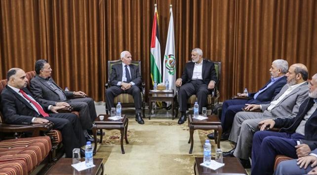 Hamas Siyasi Büro Başkanı Haniye, Fetih heyetiyle görüştü