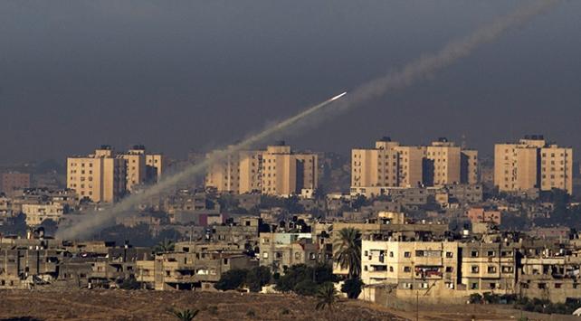Gazzeden İsraile iki roket atıldı