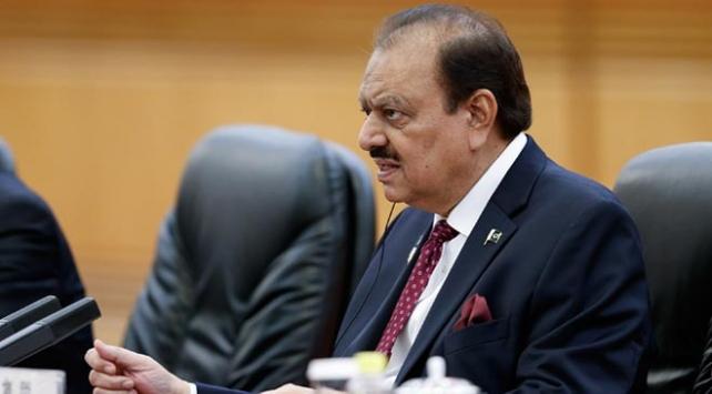 Pakistan Cumhurbaşkanı: ABDnin Kudüs kararı İslam dünyasında kabul edilemez