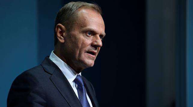 Tusk: Brexitin ikinci aşaması için liderlerden onay isteyeceğim