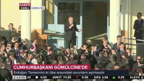Cumhurbaşkanı Erdoğan: İnancına güvenen, inanç hürriyetinden korkmaz.