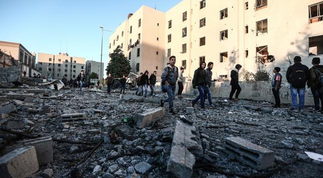 İsrailden Gazzeye bir saldırı daha: 2 ölü