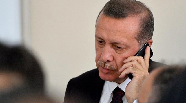 """Cumhurbaşkanı Erdoğandan, CHP Genel Başkanı Kılıçdaroğluna """"geçmiş olsun"""" telefonu"""