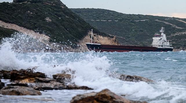 Deniz ulaşımına lodos ve fırtına engeli