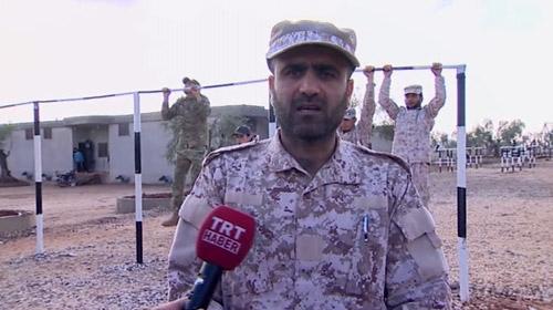 Özgür Suriye Ulusal Ordusunun özel birliğinin eğitim aldığı kampı TRT Haber görüntüledi