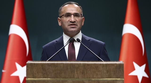 Başbakan Yardımcısı Bozdağ: ABDnin Kudüs kararı bölgede kriz, kaos ve çatışmaların fitilini ateşledi
