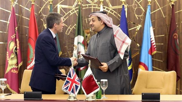 Katar, İngiltereden 24 adet savaş uçağı aldı