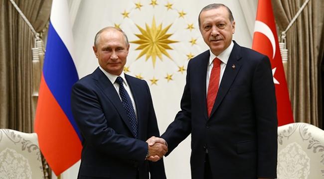 Cumhurbaşkanı Erdoğan, Putin ile akşam Beştepede görüşecek