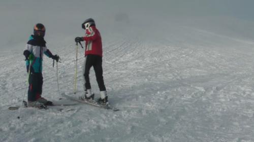 Mevsim ortalamasının üzerinde yağan kar, kayak merkezlerini doldurdu
