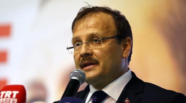 Başbakan Yardımcısı Çavuşoğlu: Büyüme rekoru Kılıçdaroğlu gibi kriz çığırtkanlarına en güzel cevap