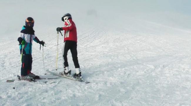 Karadeniz Dağları karla kaplandı