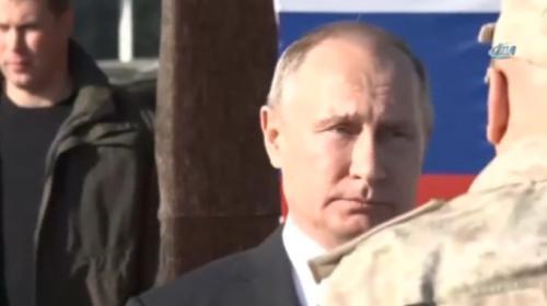 Rus komutandan Putinle yürümek isteyen Esada engel