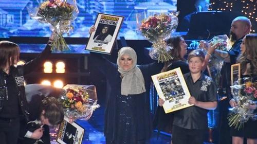 Konyalı Fatma İpek Alcıya İsveçten ödül