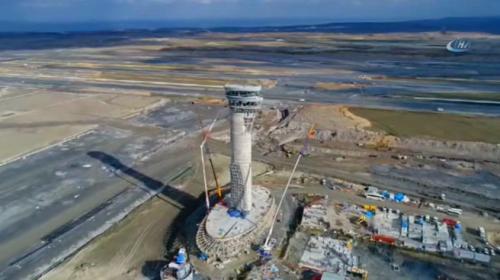 İstanbul'a üçüncü havalimanının inşaatı aralıksız sürüyor