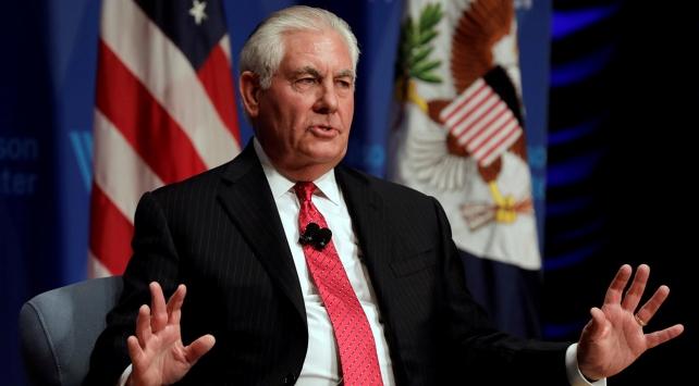 Tillerson: Kuzey Kore ile ön koşulsuz görüşmeye hazırız