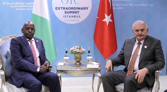 Başbakan Yıldırım, Cibuti Başbakanı Muhammed ile görüştü