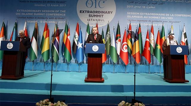 Cumhurbaşkanı Erdoğan: Filistinin kaderi kandan beslenen bir ülkenin eline bırakılamaz