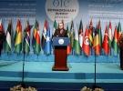 Cumhurbaşkanı Erdoğan: Filistin'in kaderi kandan beslenen bir ülkenin eline bırakılamaz