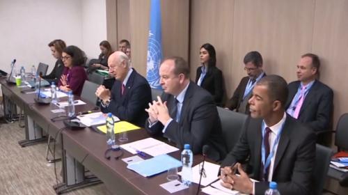 Cenevrede Suriye görüşmeleri