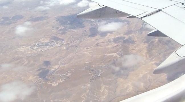 Ürdünlü pilot: Şu an Filistinîn başkenti Kudüs üzerinde uçuyoruz
