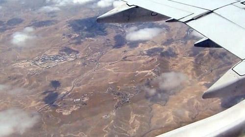 Ürdünlü pilot: Şu an Filistinin başkenti Kudüs üzerinde uçuyoruz