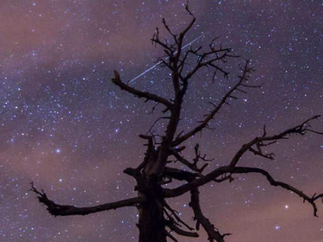 Gökyüzünde muhteşem görüntüler