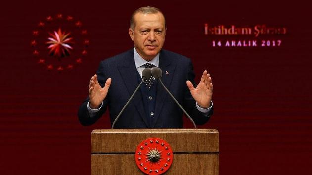 Cumhurbaşkanı Erdoğan: Artı 2 istihdam ile büyümeyi sürekli kılmalıyız