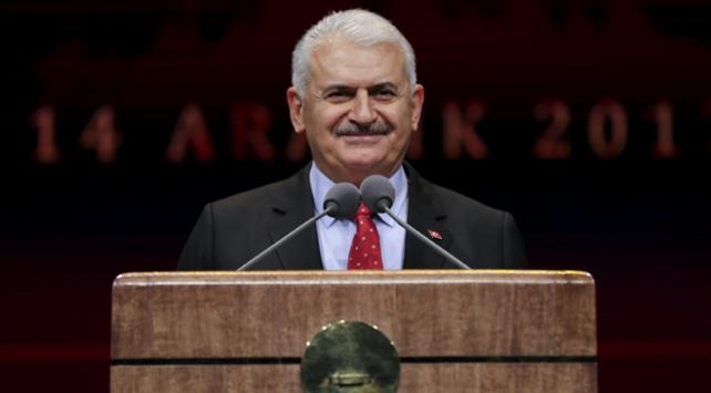 Başbakan Yıldırım: Ülkeler iflas bayrağı çekerken Türkiye büyümeye devam etti